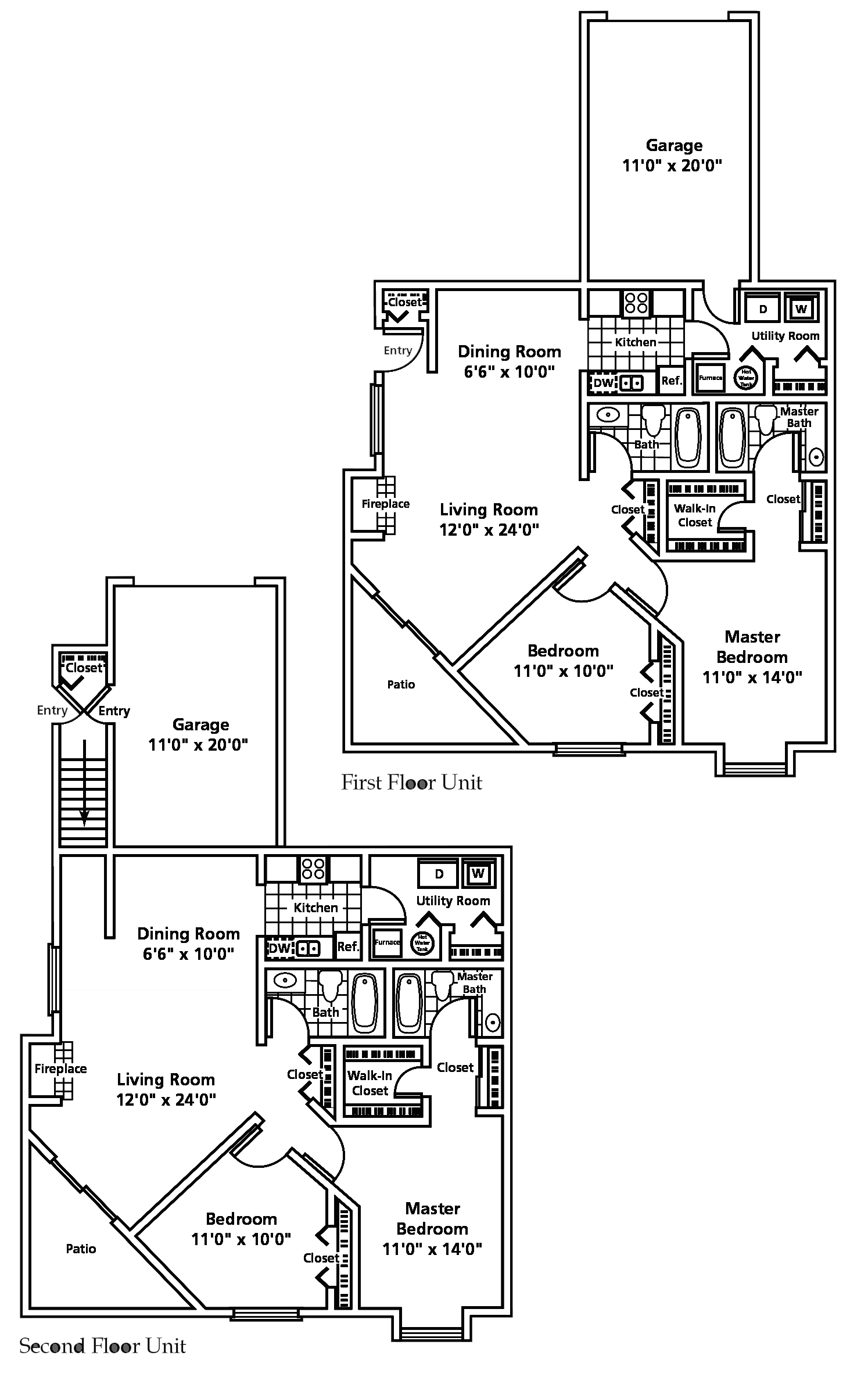 Westlake Oh Apartment Winfield Commons Floorplans